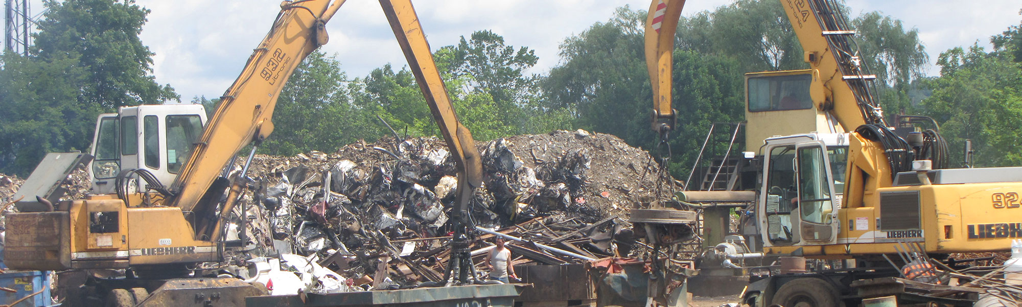 Cash for scrap metal recycling services in Elkins, WV